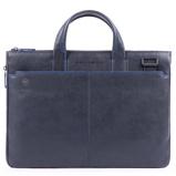 Afbeelding vanPiquadro Blue Square S Exp Slim Computer Bag Cabs Blu
