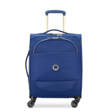 Afbeelding vanDelsey Montrouge Slim Cabin Trolley Case 4 Wheel 55 Expandable Blue - Zachte Koffers