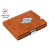Afbeelding vanExentri Wallet met RFID Bescherming Cognac Dames portemonnees