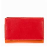 Afbeelding vanMywalit Medium Tri Fold Wallet Outer Zip Portemonnee Jamaica Dames portemonnees