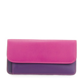 Afbeelding vanMywalit Simple Flapover Purse/Wallet Portemonnee Sangria Multi Dames portemonnees