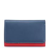 Afbeelding vanMywalit Medium Tri Fold Wallet Outer Zip Portemonnee Royal Dames portemonnees