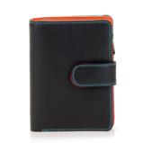 Afbeelding vanMywalit Medium Snap Wallet Portemonnee Black/ Pace Dames portemonnees