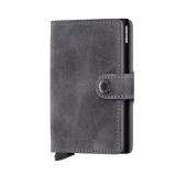 Afbeelding vanSecrid Mini Wallet Portemonnee Vintage Grey Black Dames portemonnees