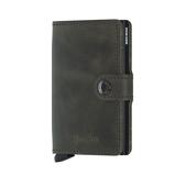 Afbeelding vanSecrid Mini Wallet Portemonnee Vintage Olive Black Dames portemonnees