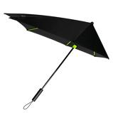 Afbeelding vanImpliva STORMaxi Stormparaplu Special Edition Black Lime Paraplu's