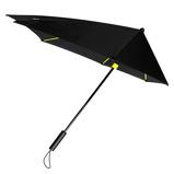 Afbeelding vanImpliva STORMaxi Stormparaplu Special Edition Black Yellow Paraplu's