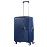 Afbeelding vanAmerican Tourister Soundbox Spinner 67 Expandable Midnight Navy - Harde Koffers