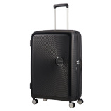 Afbeelding vanAmerican Tourister Soundbox Spinner 77 Expandable Bass Black - Harde Koffers