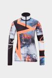 Afbeelding vanBogner Ilvy Skipully Dames Black White Orange XL Elastaan,Polyester