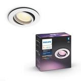Afbeelding vanphilips Hue Centura LED inbouwspot rond, wit, voor woon / eetkamer, aluminium, kunststof, GU10, 5.7 W, energie efficiëntie: A+