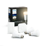 Afbeelding vanPhilips Hue starter kit White E27 (3 lampen + bridge dimmer)