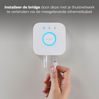 Thumbnail of philips Hue Bridge 2.0, B: 8.8 cm, H: cm