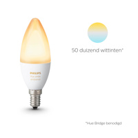 Thumbnail of philips Hue kaarslamp White Ambiance E14 6W, E14, 6 W, energie efficiëntie: A+, L: 11.7 cm