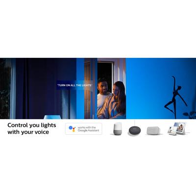 Afbeelding van philips Hue White Ambiance E27 8,5W, set van 2 st., kunststof, E27, 8.5 W, energie efficiëntie: A+, L: 11 cm