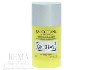Afbeelding van 10% code LIEFDE10 L'Occitane Cedrat Deodorant Stick 75 Gr & Geuren