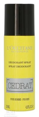 Afbeelding van 10% code LIEFDE10 L'Occitane Cedrat Deo Spray For Men 130 Ml Deodorant & Geuren