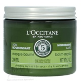 Afbeelding van10% code LIEFDE10 L'Occitane Nourishing Care Balm Mask Dry To Very Hair With Dive Tree Oils 200 Ml Haarmasker