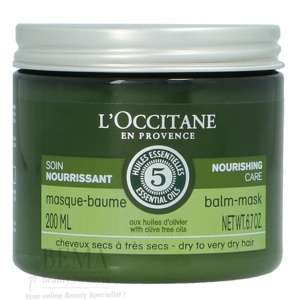 Afbeelding van 10% code LIEFDE10 L'Occitane Nourishing Care Balm Mask Dry To Very Hair With Dive Tree Oils 200 Ml Haarmasker