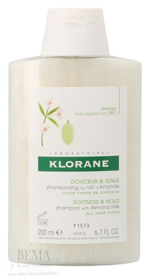 Afbeelding van 10% code LIEFDE10 Klorane Volumising Shampoo With Almond Milk All Hair Types 200 Ml