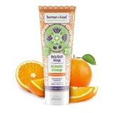 Afbeelding vanHuman + Kind Shampoo Body Wash Orange Vegan All In One 10% code SUMMER10 Shower Gel