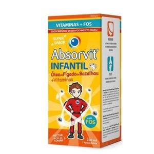 Imagem de Absorvit Infantil Óleo Fígado de Bacalhau 300ml