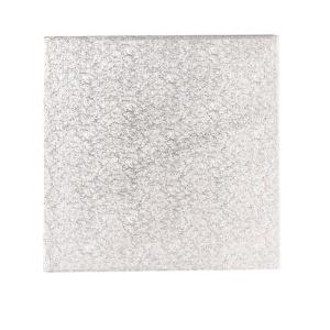 Afbeelding van Cakedrum Zilver Vierkant 43cm