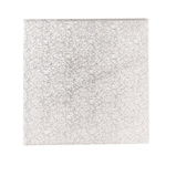 Afbeelding vanCakedrum Zilver Vierkant 50,5cm