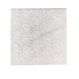 Afbeelding vanCakedrum Zilver Vierkant 22,5cm