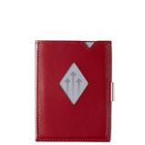 Afbeelding vanExentri Leather Wallet RFID red Dames portemonnee