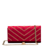 Image ofValentino Dime clutch VBS3MM01BORDEAUX