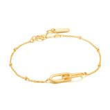 Image ofAnia Haie Chain Reaction Bracelet AH B021 01G (Size: 20 cm)