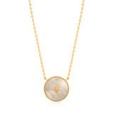 Bilde avAnia Haie 925 Sterling Zilveren Goudkleurige Hidden Gem Collier AH N022 02G (Lengte: 48.00 53.00 cm)