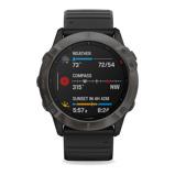 Imagine dinGarmin Fenix 6X Sapphire Smartwatch 010 02157 11