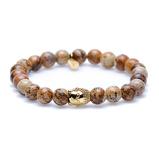 Afbeelding vanKarma Woodcraft Buddha Armband 86115G