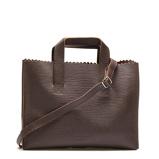 Afbeelding vanMYOMY My Paper Bag Boarded Dark Brown Crossbody MOM10676067