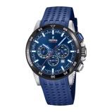 Afbeelding vanFestina F20353/3 herenhorloge blauw edelstaal