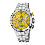 Afbeelding vanFestina F20448/A herenhorloge geel edelstaal