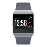 Afbeelding vanFitbit Ionic Blue Gray & Silver slimme horloge