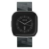 Afbeelding vanFitbit Versa 2 Speciale Editie Donkergrijs slimme horloge