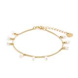 Afbeelding vanViolet Hamden armband VH170004 goudkleurig