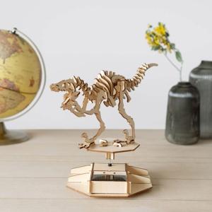 Afbeelding van 3D puzzel op zonne energie Dinosaurus van Balvi