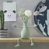 Afbeelding vanPeleg Design flexibel vaasje Florino Mint groen