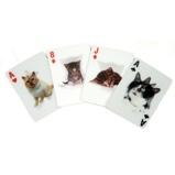Afbeelding van3D speelkaarten Katten van Kikkerland