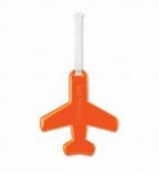 Afbeelding vanHappy Flight Luggage Doll Airplane Oranje van Alife Design