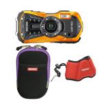Afbeelding vanRicoh WG 50 compact camera Kit Oranje