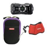Afbeelding vanRicoh WG 50 compact camera Kit Zwart