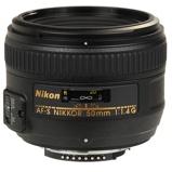 Afbeelding vanNikon AF S 50mm f/1.4G cameralens