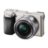 Afbeelding vanSony Alpha A6000 ICL systeemcamera Zilver + 16 50mm OSS (ILCE6000LS.CEC)