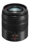 Afbeelding vanPanasonic Lumix G Vario 45 150mm f/4.0 5.6 ASPH Mega OIS MFT mount objectief Zwart